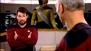 Those spandex uniforms on TNG were worse than you thought...