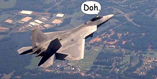 Dumb Jet: F-22 Raptor Listens But Can't Talk