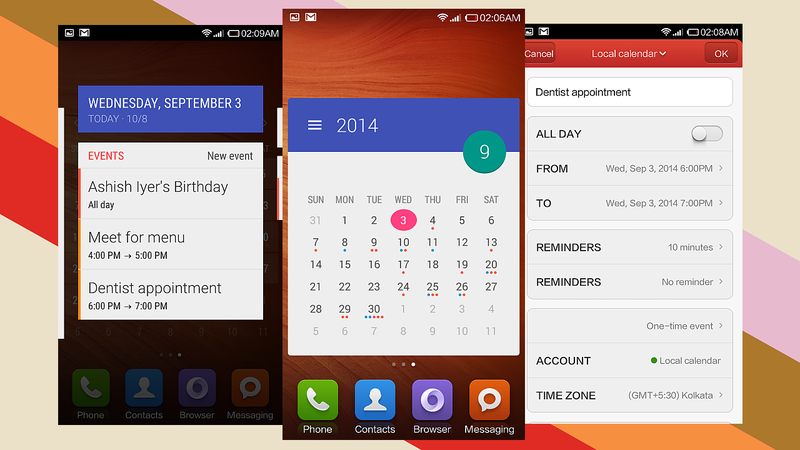 Month is a Feature-Packed and Well-Designed Calendar Widget