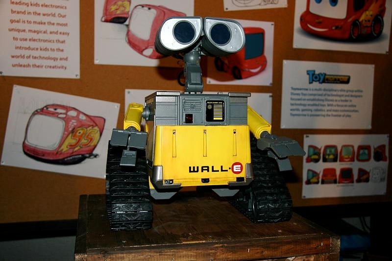Wall-E Robot Toy In Action