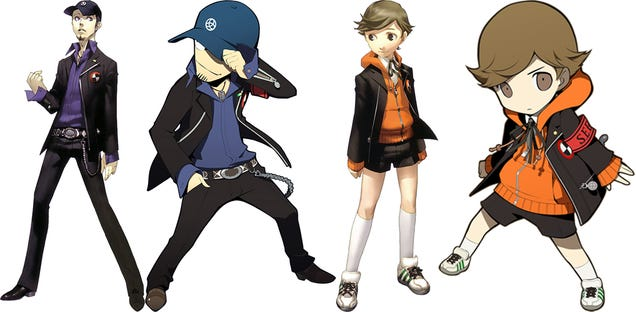 I Am Totally in Love with Persona Q's Cute Character Redesigns