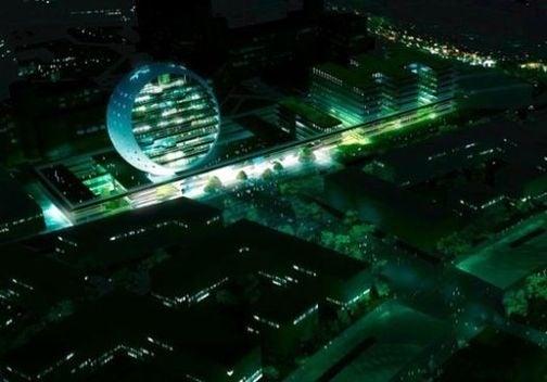 German University Constructs Giant Planet-Saving Spherical Building