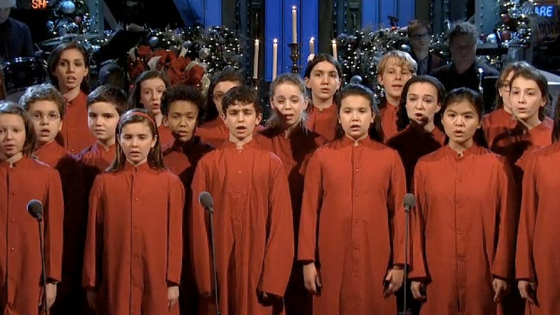 "Children's Chorus Gives Touching ""Silent Night"" Performance for SNL's Cold Opening"