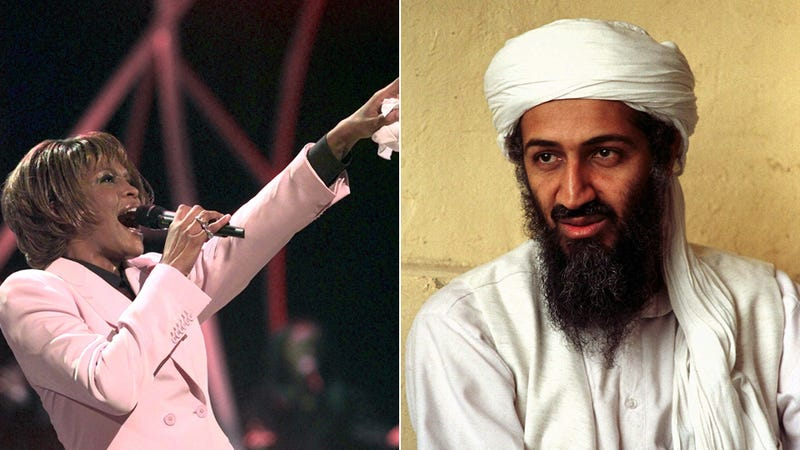 Don't Forget: Osama Loved Whitney Houston, Too