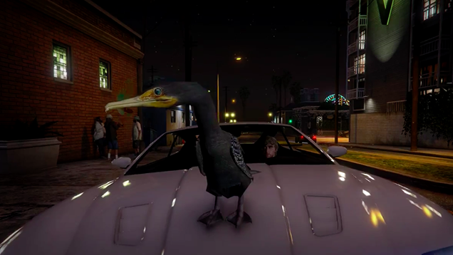 Finally, A GTA V Stunt Montage With Birds