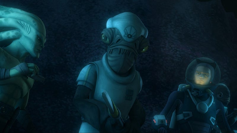 This Week's TV: Ackbar guest stars on Star Wars: The Clone Wars, and it's not a trap!