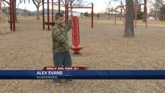 Second Grader Suspended from School for Trying to Save the World with an Imaginary Grenade
