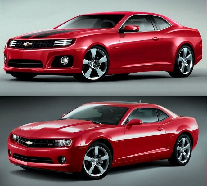 GM will bring refreshed Camaro at the NYC auto show