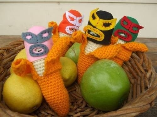 Get Hooked On Banana Luchadores