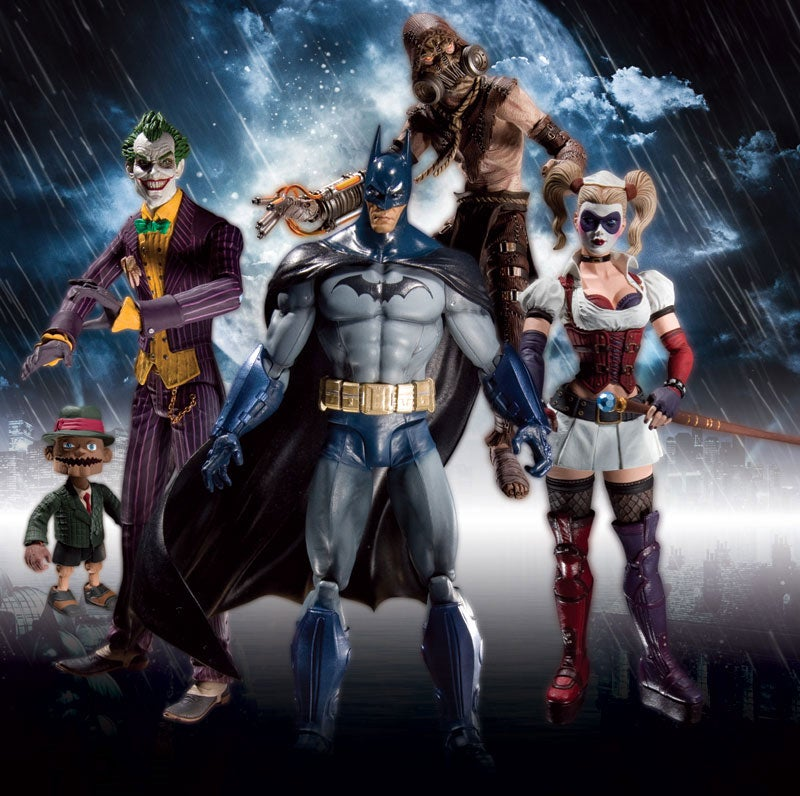 First Look At Arkham Asylum's Action Figures [Update]