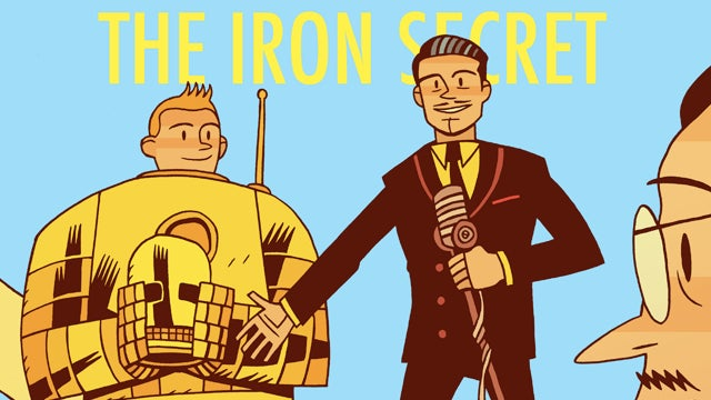 What if Tintin had his own Iron Man armor?