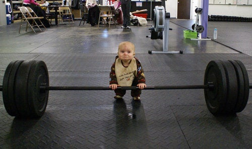 Diaper Deadlift