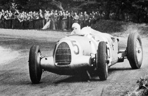Last Flight Of The Silver Comet: Bernd Rosemeyer's Fatal World Speed Record Attempt