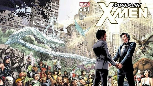 In this week's comics, there's a very special X-Men wedding issue