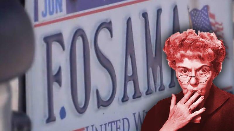 Virginia DMV Revokes 'F OSAMA' License Plate