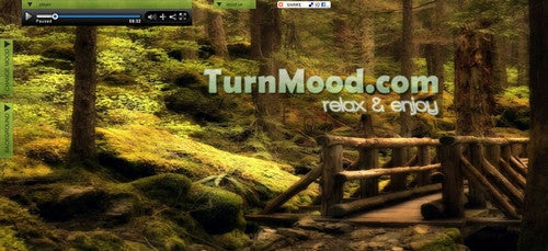 Enjoy Soothing Full Screen Ambiance at MoodTurn