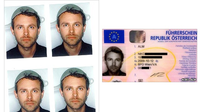 Well Of Course This Pastafarian Wore a Pasta Strainer in His License Photo
