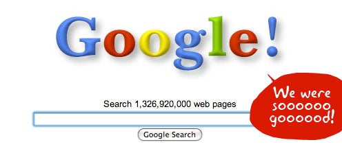 Search 2001, the Year When Google Actually Did No Evil