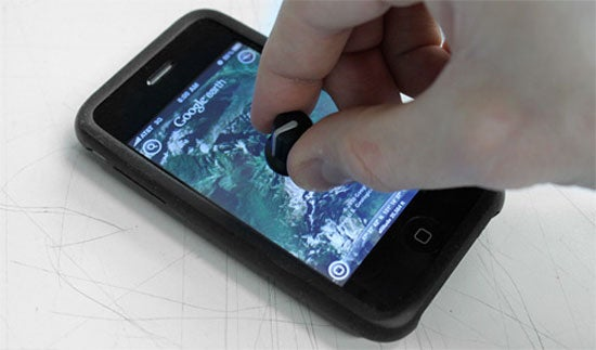 Forget Using A Stylus, Now There's A Knob For Your iPhone