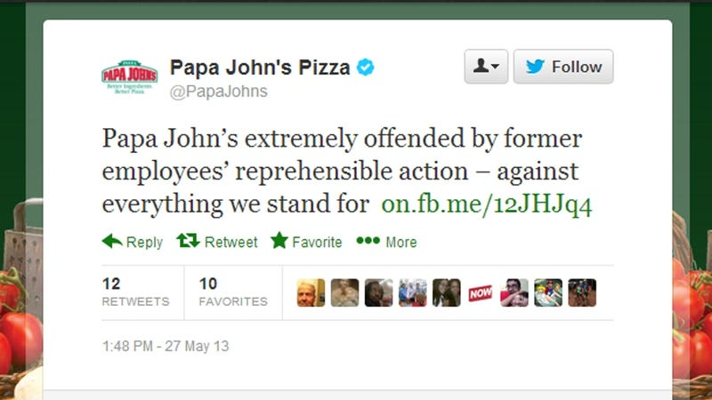 Papa John's Employee Butt-Dials Customer, Leaves Racist Voicemail