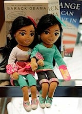These Sasha and Malia Dolls Have Nothing To Do With The First Family