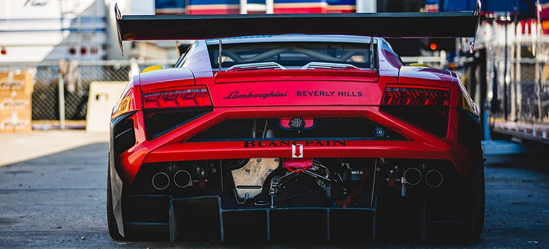 Your Ridiculously Awesome Lamborghini Gallardo Racer Wallpaper Is Here