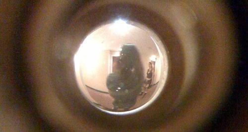 First Creepy Stalker Pics Of New Lara Croft