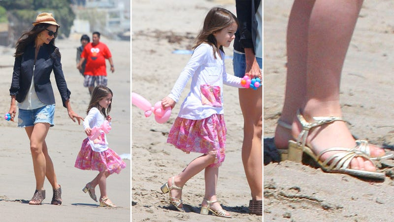 Suri Cruise Wears High Heels at the Beach, and Other Absurdities