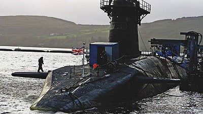 Two Nuclear Submarines Collide in the Atlantic