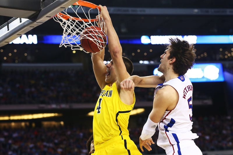 Trey Burke May Have Hit The Equalizer, But It Was Mitch McGary Who Played The Game Of His Life