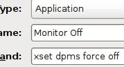 Create a Monitor Power-Off Shortcut