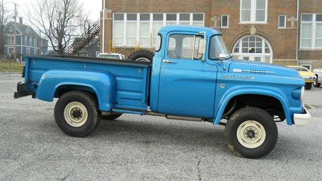 Rare Vintage Power Wagon Has Modern Diesel Power