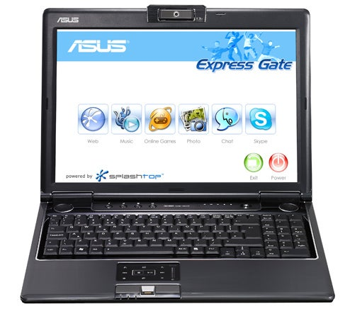 Asus Notebooks Getting Splashtop Instant Boot Linux OS: Web Browsing, Skype in Seconds