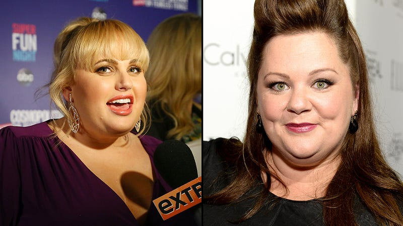 Rebel Wilson and Melissa McCarthy Make a Pact Not to Lose Weight