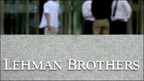 Lehman Bankers One Year Later: Same People, Same Psychological Shortcomings