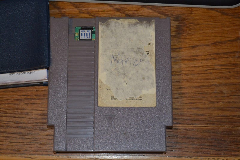 I'd Have Expected More Glamour from a $5,000 NES Cartridge [UPDATE]