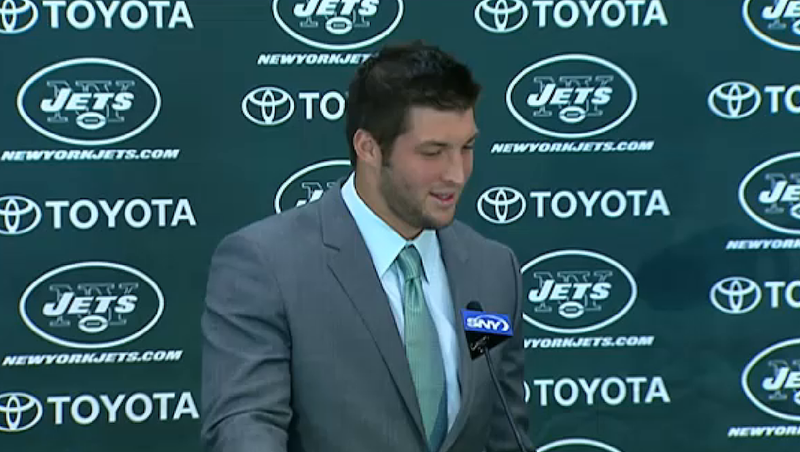 A Skeptical Press Forces Tim Tebow To Defend His Faith