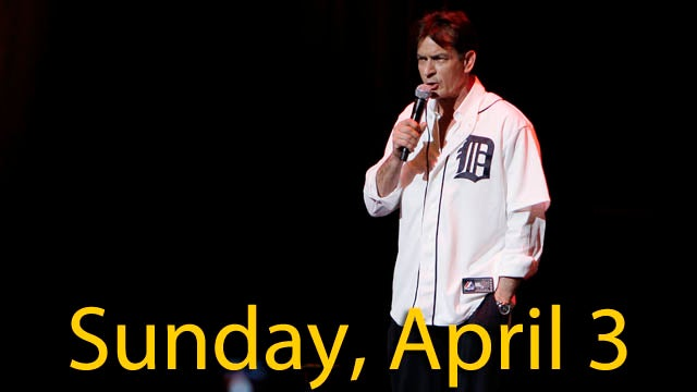 Charlie Sheen Booed Off Stage At His Live Show Debut