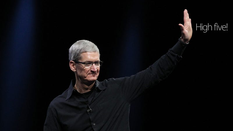 Tim Cook on iOS 7, Jony Ive, Google Glass and Opening Apple Up