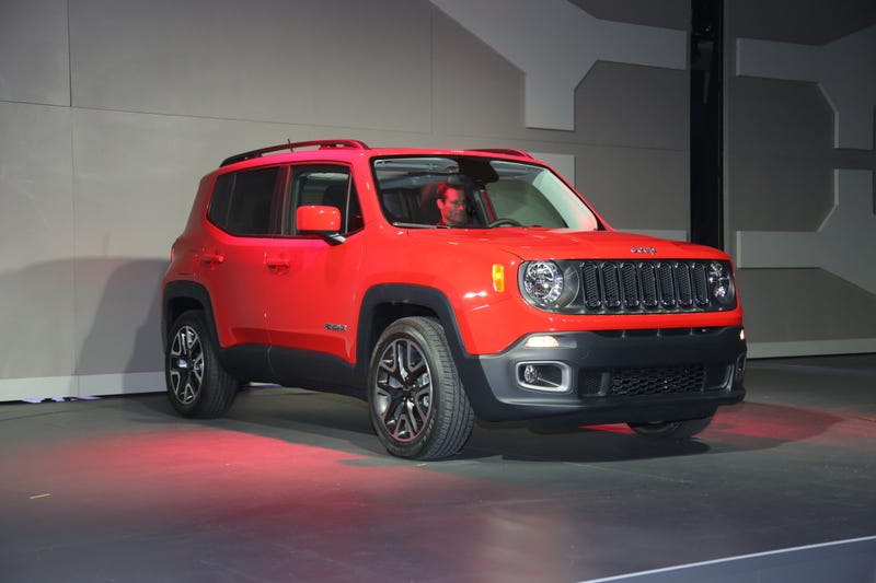 2015 Jeep Renegade Looks Twice The Size Of Jeep CEO Mike Manley