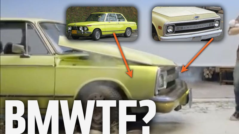 Unholy Child of BMW 2002 and Chevy C-10 Truck Appears In New Ameritrade Ad
