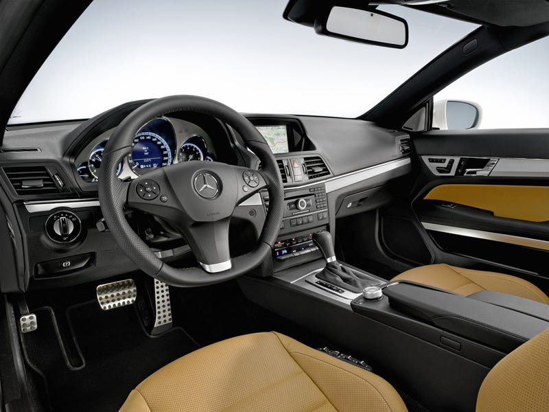 2010 Mercedes E-Class Coupe: Official Photos, Details