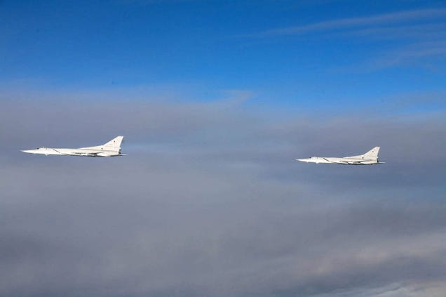 Close encounters with Russian warplanes as tension increases in Europe