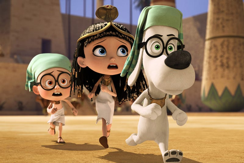 Time travel can't stop your kids growing up, in Mr. Peabody and Sherman