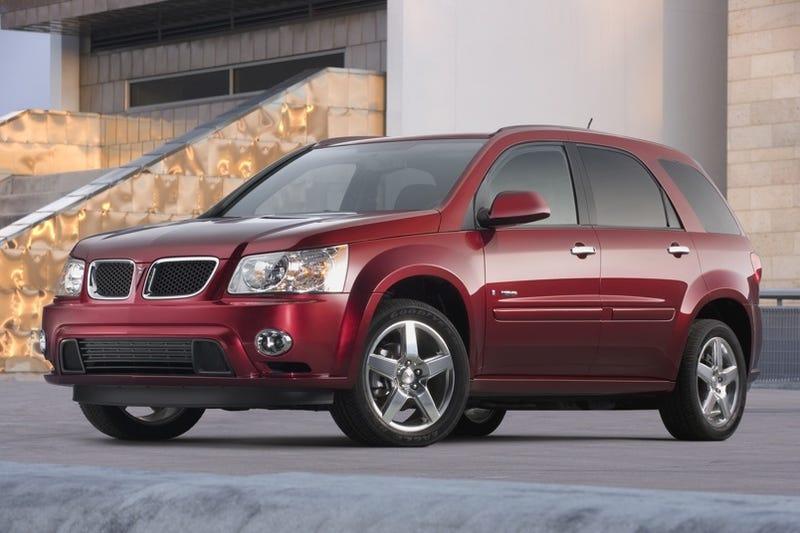Winner Of Pontiac G8 ST Chooses Pontiac Torrent GXP Instead
