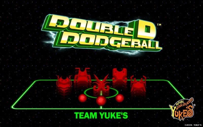 Yuke's Double D Dodgeball Goes Back To Basics