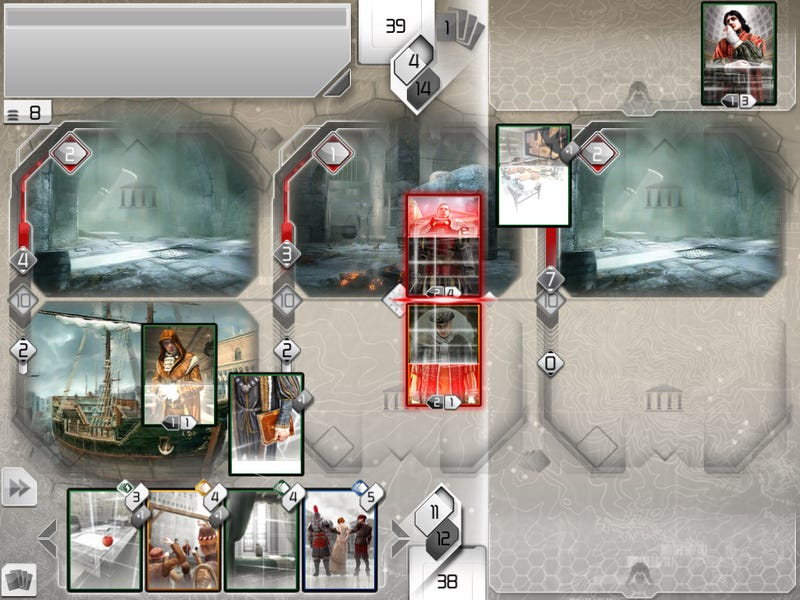 Assassin's Creed Recollection Brings Deep Card-Based Strategy Assassination to the iPad