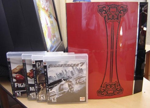 Win The Laser Etched PS3, Now Under More Dire Circumstances