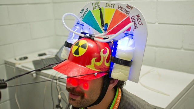 Nuclear Taco Hat Predicts How Unpleasant the Morning After Spicy Foods Will Be