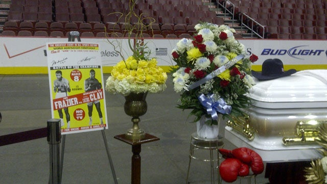 A Big Arena's Small Memorial For Joe Frazier
